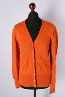 Ladies Acne Jeans Classic Button Front Cardigan Jumper Size S
