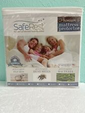 SafeRest Twin Extra Long Size Premium Hypoallergenic Waterproof Mattress NIP