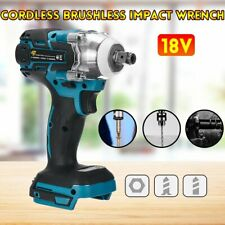 18V Electric Brushless Impact Wrench Cordless Power Tool For Makita Battery