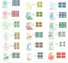 United Nations Postage Stamp Sheets 22 & UN First Day Covers 99 FDC 1962 to 1970