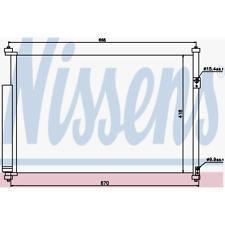 Kondensator Klimaanlage - Nissens 940012