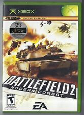 Microsoft xbox BattleField 2 Modern Combat Game Rare