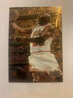 Michael Jordan RARE 95-96 FLEER METAL EMBOSSED CARD - Mint Condition!