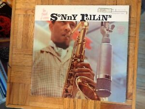 Sonny Rollins,The Sound of Sonny,Riverside Label,Mono LP