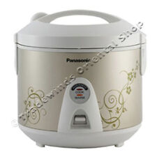 PANASONIC SR-TEM10 1.0L ELECTRIC RICE COOKER & STEAMER - METALLIC GOLD