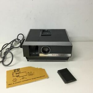 Bell & Howell QI Automatic 35mm Slide Projector No Magazine #454