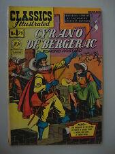 Classic Illustrated #79 G- 1st G- Cyrano De Bergerac