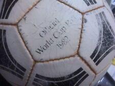 WORLD CUP BALL 1982 TANGO ESPANA ADIDAS FOOTBALL BALL VINTAGE SOCCER LEATHER