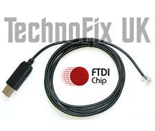 FTDI USB Cable de programación Yaesu FT-1500 FT-1802 FT-1900 FT-2800 FT-2900 CT-29F