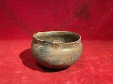 Outstanding Rare Circa 1700S Cherokee Native American Indian Clay Pottery Bowl