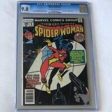 Spider-Woman #1 (Marvel 1978) 💥 CGC 9.8 💥 New Origin Jessica Drew! Key Comic