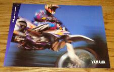 Original 1994 Yamaha Motocross Sales Brochure 94 YZ250 YZ125 YZ80