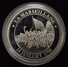 Médaille REVOLUTION FRANCAISE LA MARSEILLAISE 14 JUILLET 1795 BE