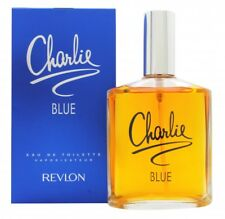 REVLON CHARLIE BLUE EAU DE TOILETTE 100ML SPRAY - WOMEN'S FOR HER. NEW