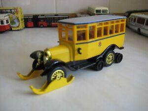 matchbox yesteryear Y16 1923 Scania - Vabis Post Bus