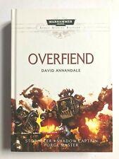 OVERFIEND - David Annadale (Hardback) Stormseer WARHAMMER SPACE MARINES