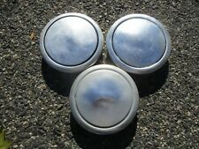 Lot of 3 1982 to 1987 Dodge Aries Plymouth Reliant hubcaps for 13 inch wheel