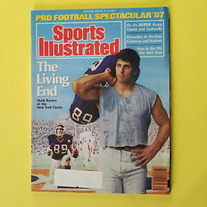 SPORTS ILLUSTRATED -SPECIAL ISSUE-FOOTBALL SPECTACULAR 1987-GREAT FOR AUTOGRAPHS