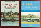 Le Colporteur et le Marinier des Bords de Loire, Comte, Navigation à vapeur