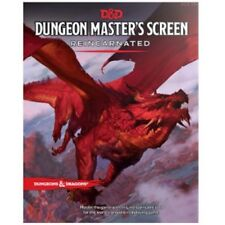Dungeons & Dragons D&D 5E 5th Edition Dungeon Master's Screen Reincarnated (New)