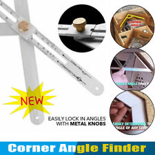 Stainless Steel Corner Angle Finder Ceiling Artifact Tool Square Protractors