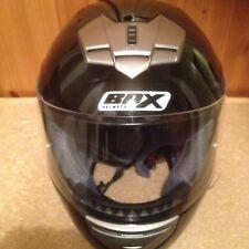 BOX  BX-1 Motorcycle Bike Full Face Helmet , GLOSS BLACK
