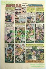 Vintage ☆ Eagel-Eye G.I. Joe ☆ The Intruder Hasbro Original 1976 Comic Print Ad!