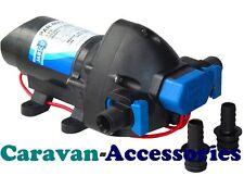 Jabsco Par-Max 1.9 Fresh Water Pressure Pump 12V Self-Priming Caravan/Boat