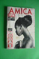 AMICA Febbraio 1988 Naomi Campbell Bill Holiday ELVIS PRESLEY MADONNA BOY GEORGE