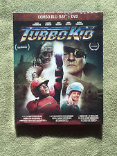 Free*Postage New Turbo Kid Blu Ray Dvd Combo Canadian With Slipcover Leboeuf