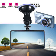 Full 1080P HD Car DVR Dash Camera Recorder Vehicle Front Rear View Backup Cam US