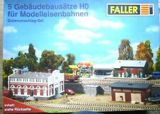 Faller - Güterumschlag-Set H0 1:87 (5 Gebäudebausätze)++neu und ovp++