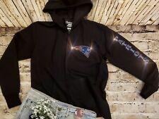 New Women's Superbowl Champions New England Patriots Zip Up Jacket Hoodie Sz M