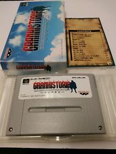 GRANHISTORIA Item Ref/bcb Super Famicom SNES Nintendo Japan Game sf