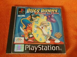 SONY PS1 Playstation 1 Bugs Bunny Lost in Time PAL Complete
