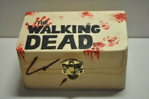 The Walking Dead seltene Holz Dose