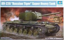 """Trumpeter 1:35 KV-220 """"Russian Tiger"""" Super Heavy Tank Model Kit"""