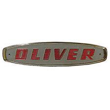 101430A Front Red Emblem For Oliver Tractor Models 550 770 880 950 990 995