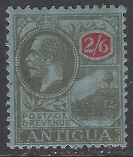Antigua, Scott #62, 2sh6p King George V, Wmk 3, MH