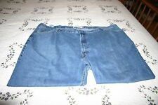 Mens Levis 560 Comfort Fit Jeans Tagged Size 52 x 30 Measure 52 x 25 (Hemmed)