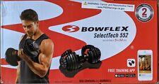 NEW Bowflex SelectTech 552 52 Pounds Adjustable Single Dumbbell Free Shipping