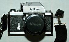 Nikon F ftn 35mm SLR Film Camera with 50 mm Nikon F1.4 lens