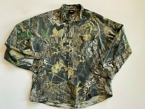 Redhead Button Down Shirt Men's Small Camouflage Hunting
