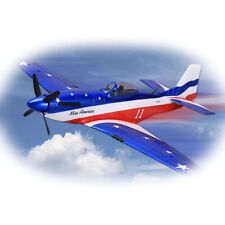 P51-D Mustang Foam 680mm Blue PNP without Battery & Radio RC Warbird Airplane