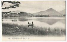 France - Lourdes, Le Lac - 1920's postcard