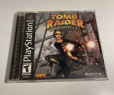 New listing Tomb Raider: Chronicles (Sony PlayStation One Ps1) Complete Black Label Tested