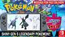 Pokemon Sword & Shield Shiny 6IV Kyurem, Zekrom, Reshiram Battle Ready!!