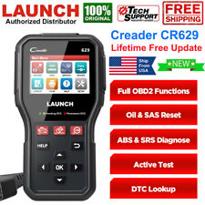 Car ABS SRS Airbag Engine Diagnostic Scan Tool OBD2 CAN Code Reader LAUNCH CR629