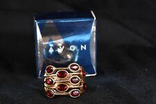 2008 Avon Bejeweled Multi Row Ring Berry
