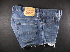 Levis Vintage 569 CUTOFF JEAN SHORTS Cut Off W 32 MEASURED Loose High Waisted